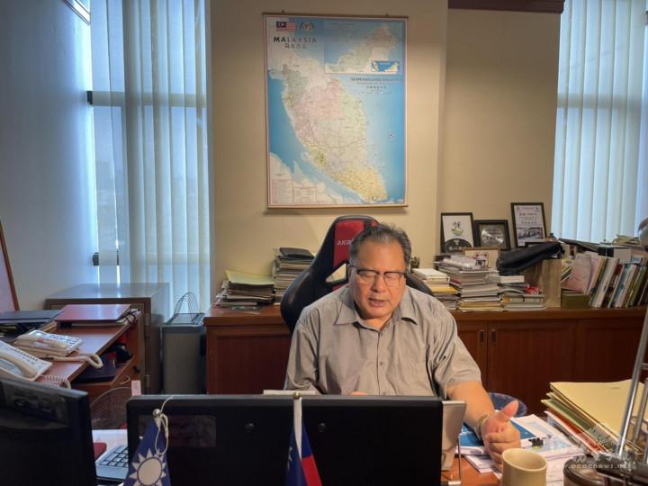 駐馬來西亞代表處僑務組舉辦「馬來西亞地區僑胞權益線上推廣說明會」。