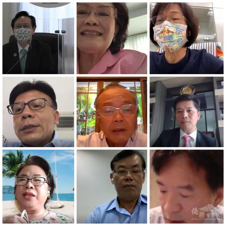 泰國與會人員合影