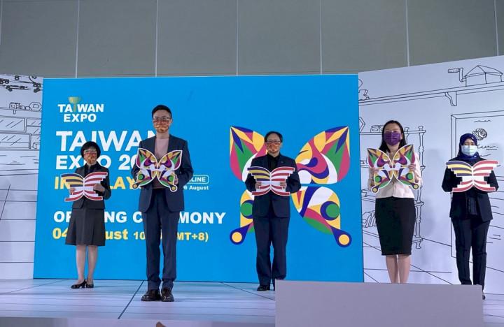 外貿協會線上馬來西亞台灣形象展4日開展