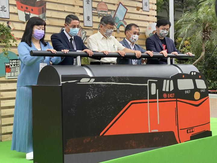 「鳴日號」觀光列車台北獨家遊程預計9月開放報名、10月正式啟程。
