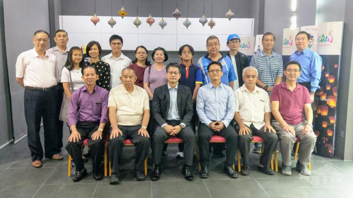 駐汶萊代表處舉辦第三場臺灣國片電影欣賞會合照