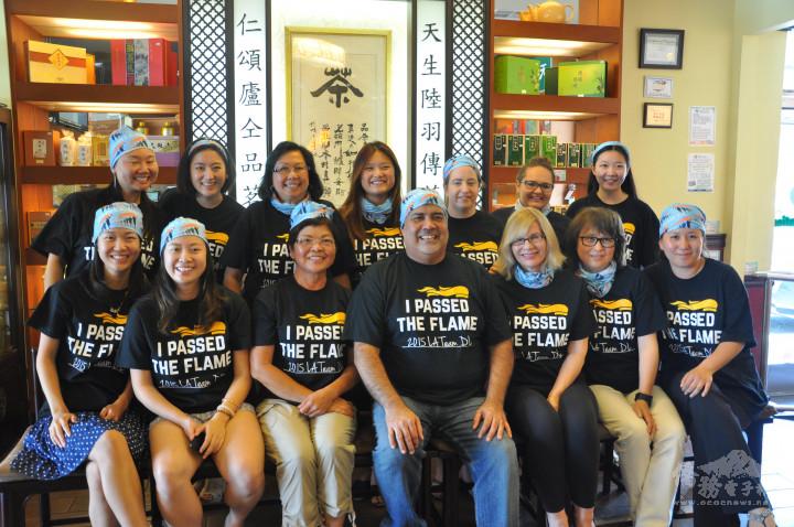 美國洛杉磯海外傑出青年孟心韻僑務促進委員建議「世界警消防運動會」翻譯人員訓練代表團在洛杉磯華僑文教服務中心辦理。