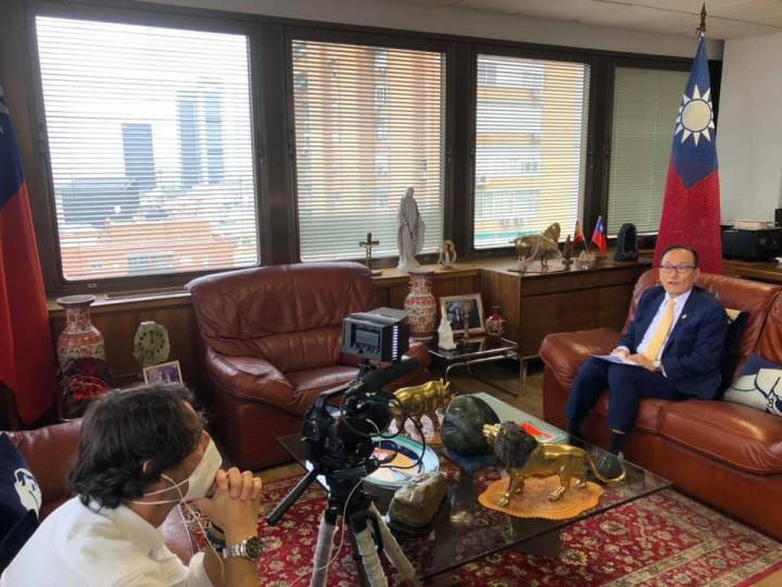 劉德立接受西班牙「OK Diario」電子報專訪 闡述我國推動參與聯合國的具體訴求
