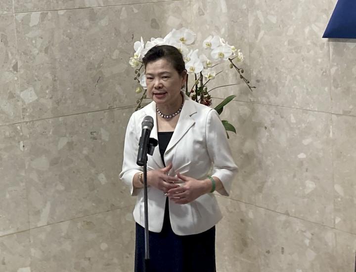 經濟部長王美花。