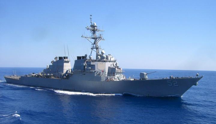 美國貝瑞號驅逐艦(USS Barry)。圖:美國海軍