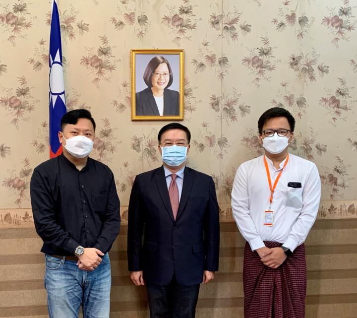 伊洛瓦底開發公司業務及行銷主管拜會駐緬甸代表處李大使
