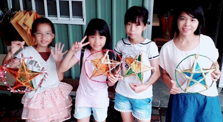 台北市國小學童體驗異國中秋文化