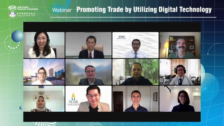 數位科技帶動貿易商機 我國引領APEC分享實務經驗