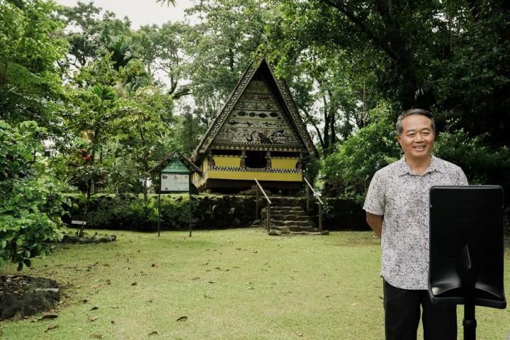 外交部在帛琉國家博物館舉辦「數位體驗與行銷旅遊任意門」線上旅遊活動
