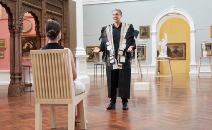 芬蘭國家級阿黛濃美術館 首度展出台灣藝術作品