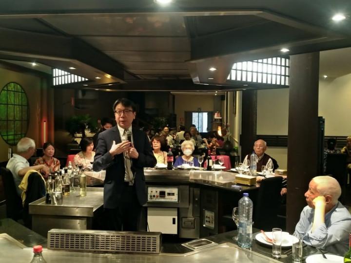 蔡明彥大使出席比利時僑團舉辦中秋聯合餐會