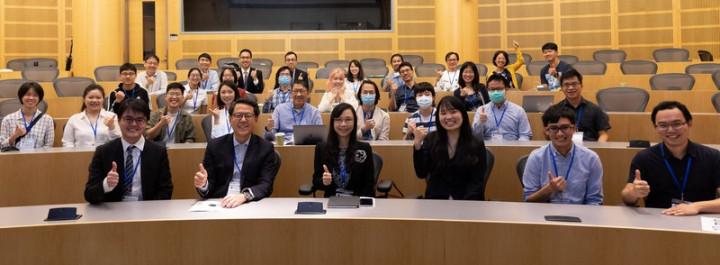 美國中西部台灣人生物科技協會和駐休士頓辦事處科技組在伊利諾州芝加哥的西北大學舉行年度研討會。(駐休士頓科技組提供)