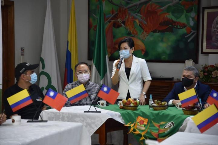 駐哥倫比亞張幼慈代表致詞