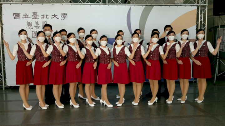 台北大學親善團將再度於國慶大典中擔任禮賓人員。