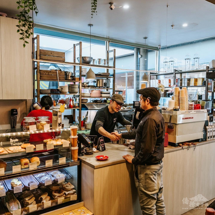 Angus Shen的咖啡廳(圖片提供:Angus Shen。)