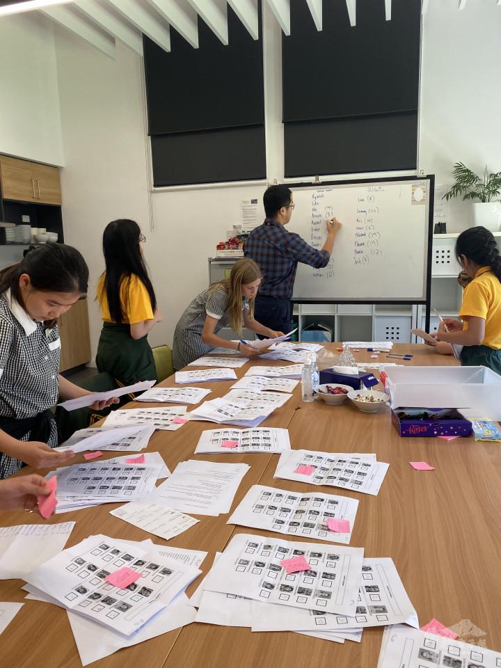 王宇生校長的教學現場(圖片提供:王宇生。)