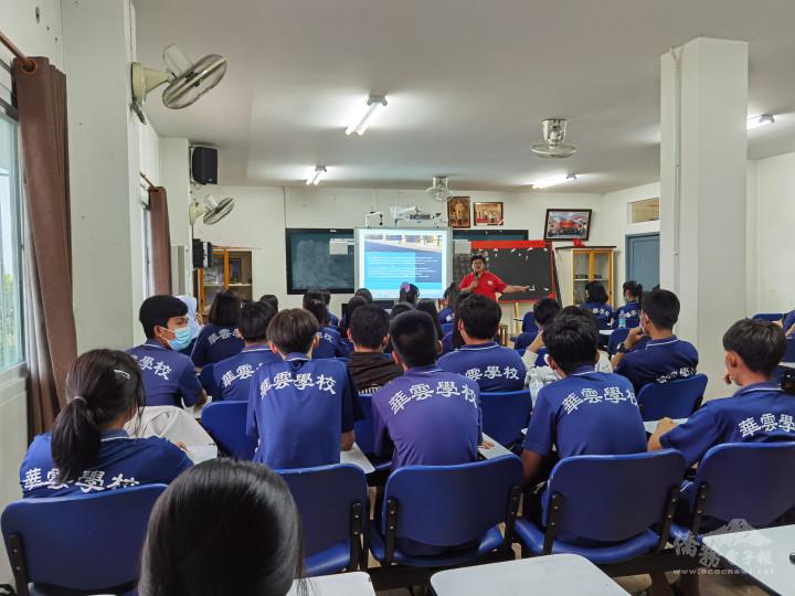 華雲學校校內活動課情景