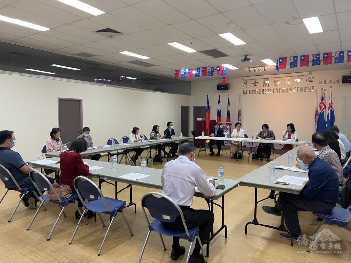 昆士蘭僑界第三次國慶籌備會議在昆士蘭臺灣中心舉行