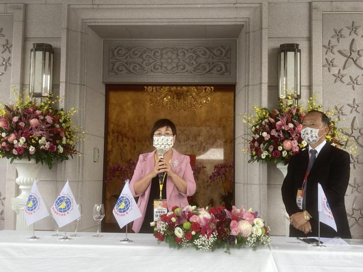 徐佳青感謝中南美僑臺商長期以來對政府的支持