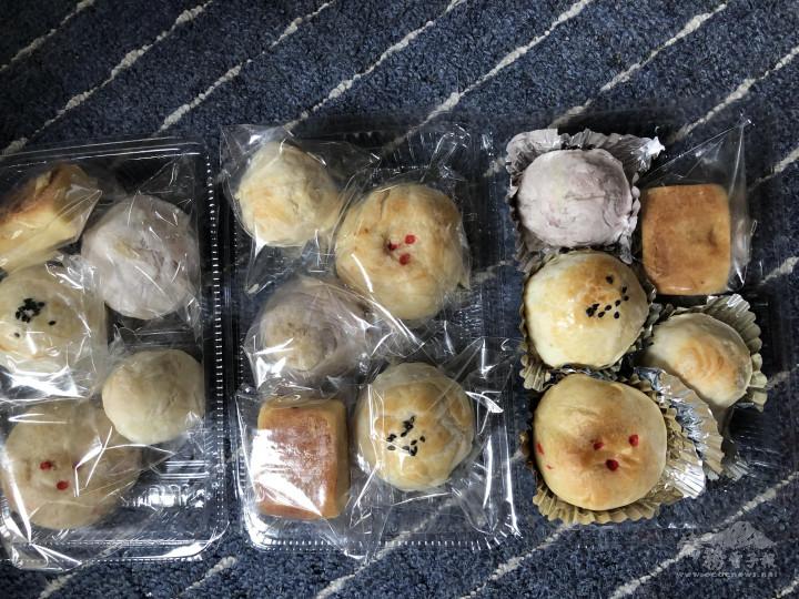 準備寄出給幹部及會員的糕餅
