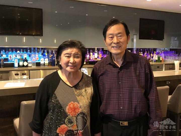 「矽谷皇冠假日酒店」(Crowne Plaza)董事長夫婦范陣宗、戴麗鴻夫婦