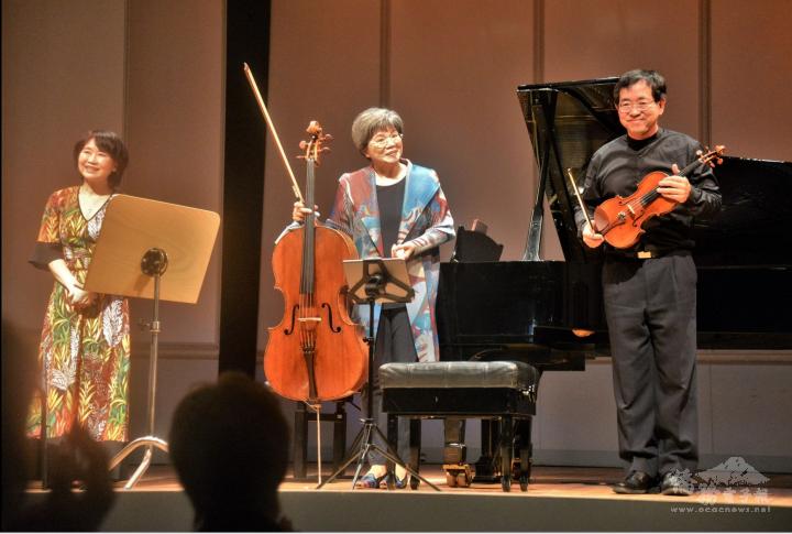 歐亞美三重奏於柏林音樂廳演出,驚艷柏林僑胞