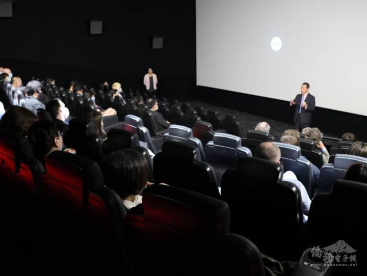 都柏林知名電影院Savoy舉辦臺灣紀錄片《關係未來式》放映會