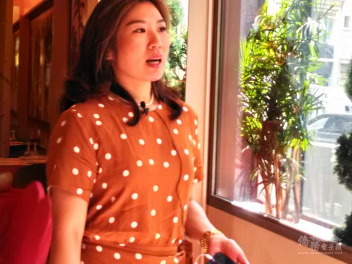 「法國臺灣女力新知會」會員蘇玲儀分享看法與建議