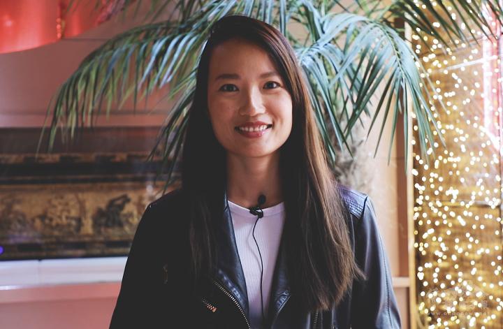 「法國臺灣商會青商會」會長邱蘭惠分享看法與建議