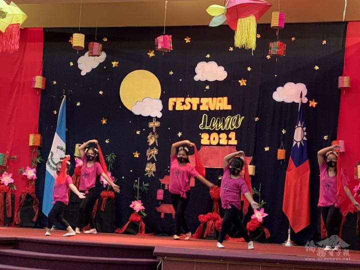 學生舞蹈演出情形