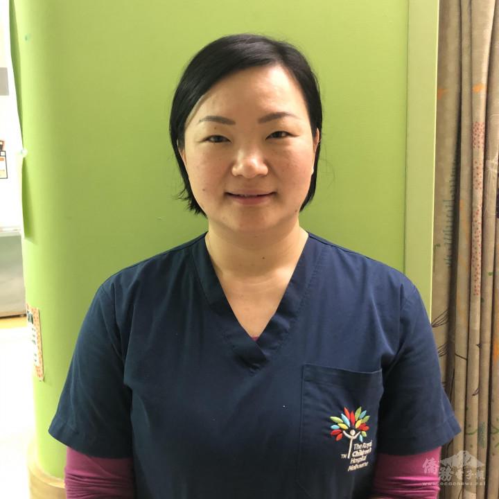 Mei-Ling Yeh護士(圖片提供:Mei-Ling Yeh。)
