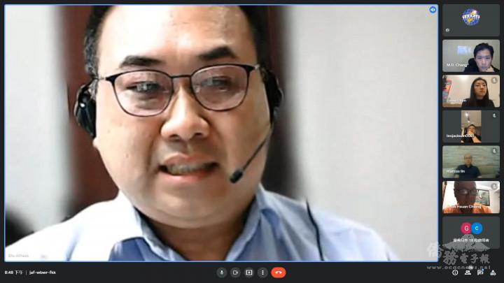 舒志宏副參事接受與會僑胞臺商朋友的提問