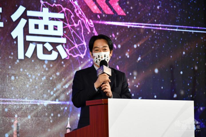 賴副總統盼臺商共同支持,讓臺灣越來越進步