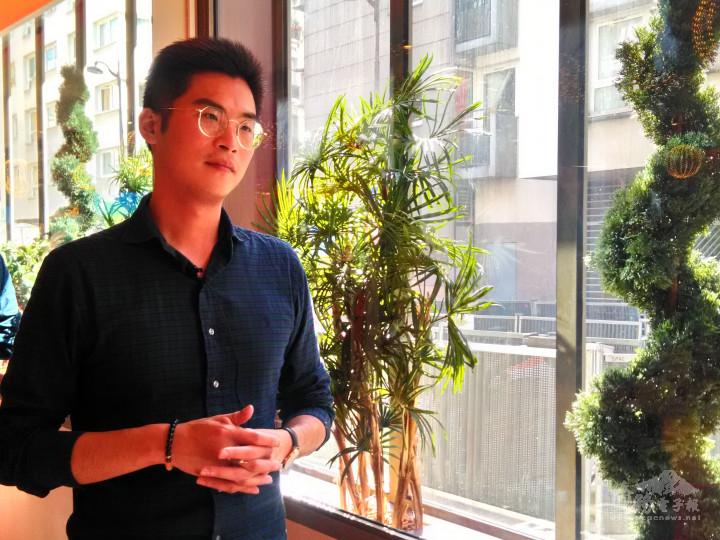 「臺法青年交流協會」會長賴柏安分享看法與提供意見