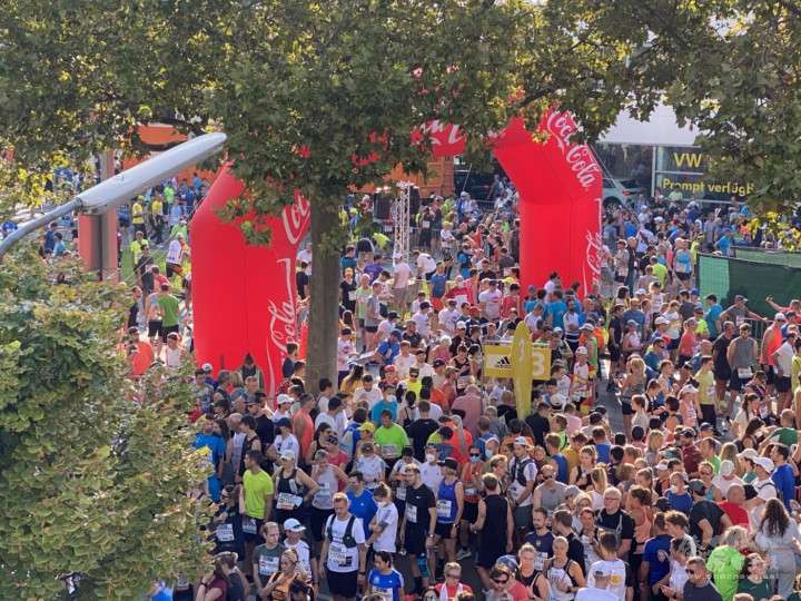 The Vienna City Marathon was a grand occasion as usual. The Austrian government adopted extremely strict screening rules to guard against COVID-19.