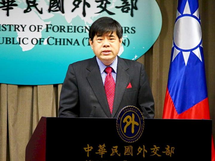 外交部歐洲司司長陳立國14日表示,歐洲議會今年至今已11度通過友我決議,展現對台灣強勁支持 (央廣記者王照坤 攝)