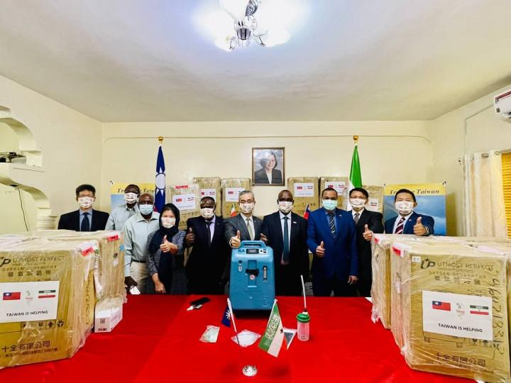 台灣援贈索馬利蘭製氧機 攜手抗疫共度難關