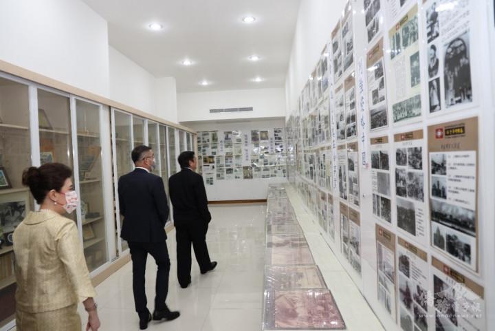 參觀泰國中華會館設施