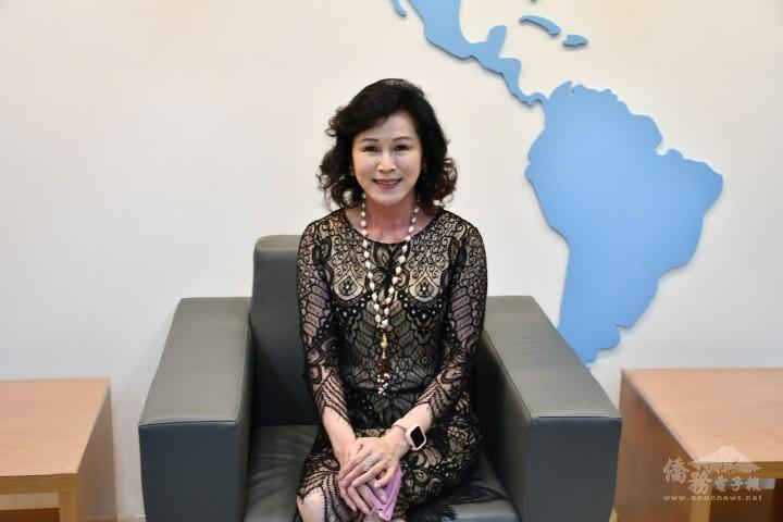 陳阡蕙接受僑務電子報專訪