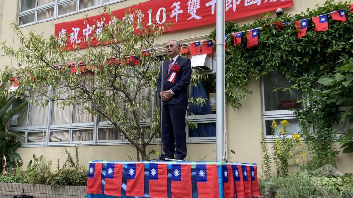 副代表蔡明耀呼籲大家要努力維護自由民主