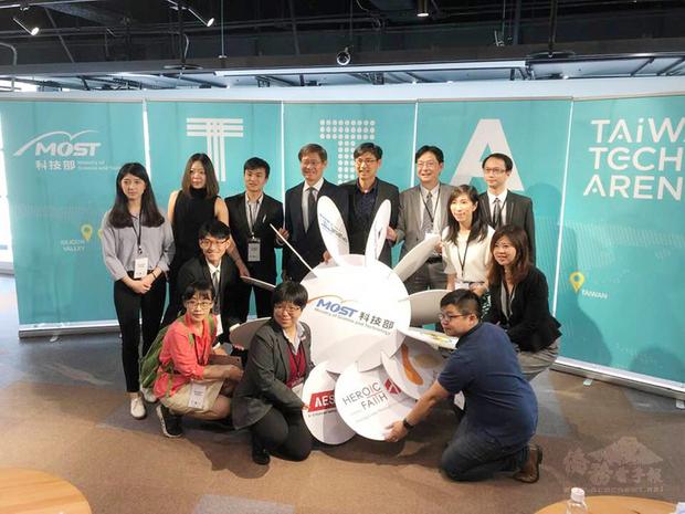 科技部的台灣科技新創基地(TTA),日前帶領12個新創團隊赴美國波士頓參加The MedTech Conference 2019,連獲重量級大廠的青睞。代表團日前返國,24日上午科技部邀請12個團隊與大家分享這次前進美東的經驗。(中央社提供)