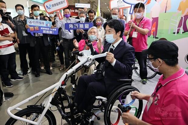 賴清德副總統今(6)日上午出席「2021臺灣輔具暨長期照護大展開幕典禮」