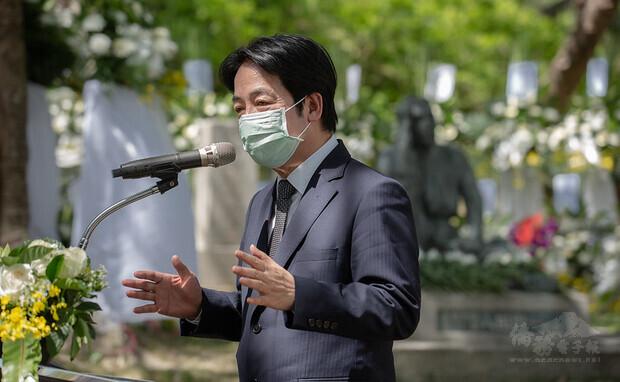 副總統出席「八田與一技師逝世79周年追思紀念會」並致詞