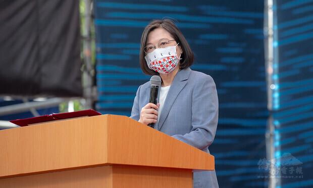 總統出席「百年圳流—嘉南大圳開工滿百週年紀念活動」並致詞