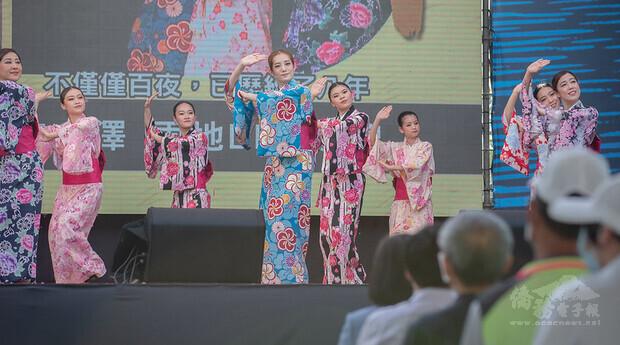 蔡英文總統8日下午前往臺南出席「百年圳流—嘉南大圳開工滿百週年紀念活動」