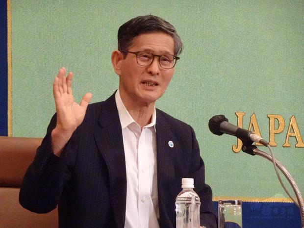 日本這次在武漢病毒的防疫上,備受民眾信賴的是專家會議,會議副召集人尾身茂24日對中央社記者說,台灣這次防疫準備做得很好,是優等生。(中央社提供)