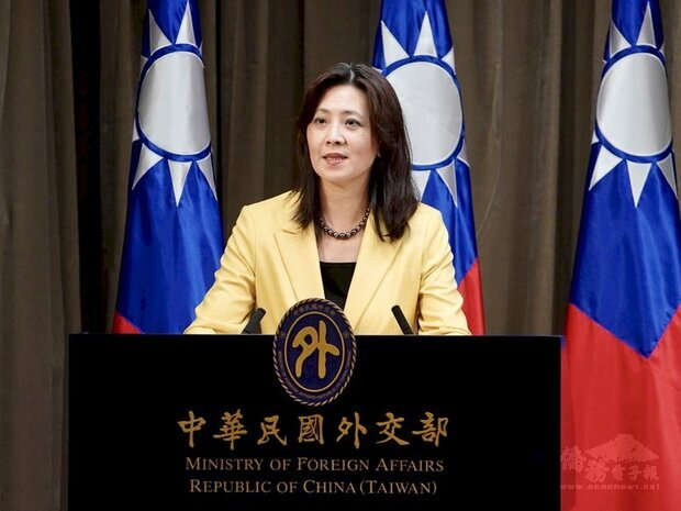 外交部發言人歐江安 (外交部提供)