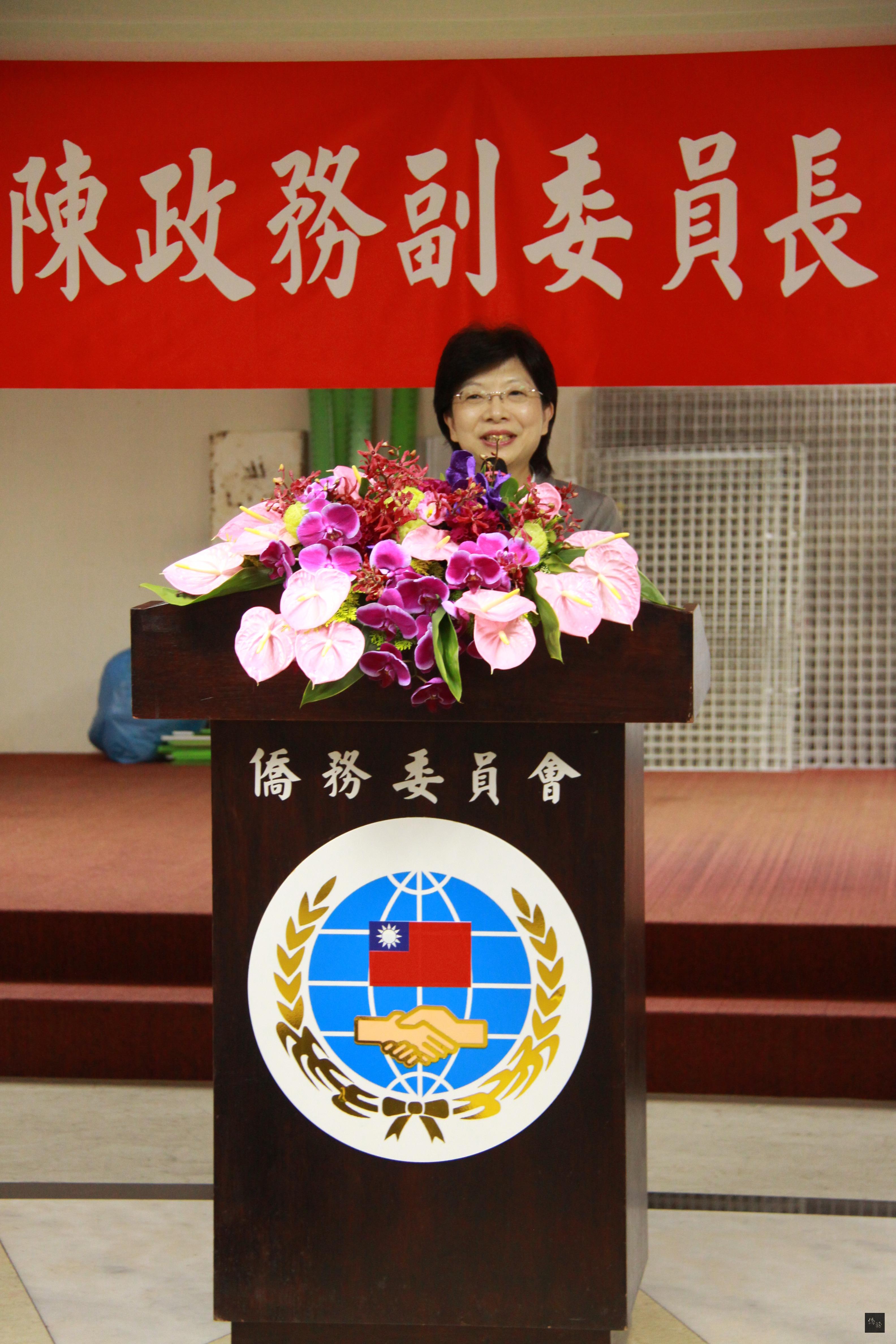 財團法人海外信用保證基金董事長宮文萍表示,她非常敬佩僑委會副委員長陳玉梅卓越的行動力。
