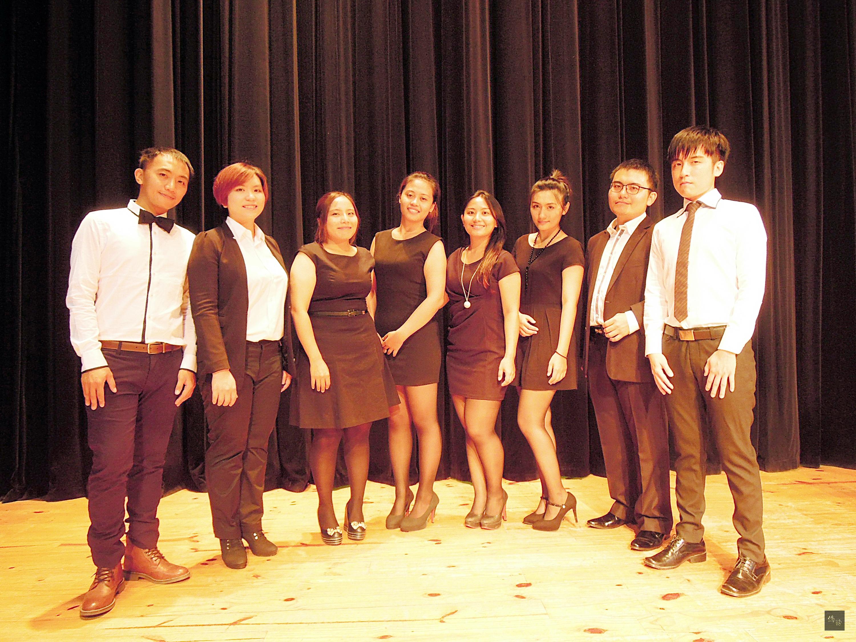 今年的台灣國際重唱藝術節世界盃現代阿卡貝拉大賽,屏東縣4個人聲樂團表現優異全部得獎,其中,SURE樂團榮獲金牌。(中央社提供)