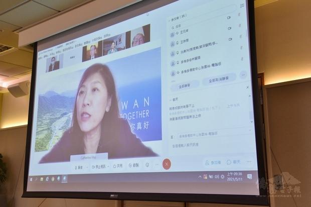 徐詠梅感謝僑委會對海外僑胞的協助,並讚揚加東地區僑領心繫臺灣、推展國民外交。